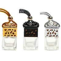 Empty Glass Bottle For Diffuser Rearview Mirror Ornament Car Hanging PerfumeSEAU