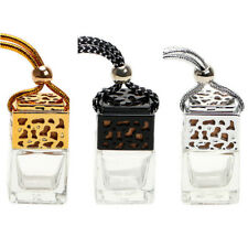 Empty Glass Bottle For Diffuser Rearview Mirror Ornament Car Hanging Perfume MW