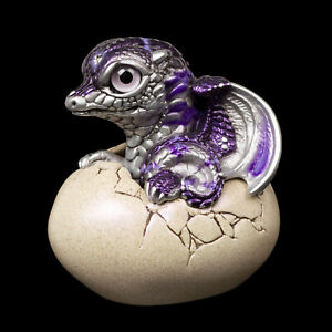 "Windstone Editions ""Purple Lightning"" Hatching Dragon V2 Test Paint #1"