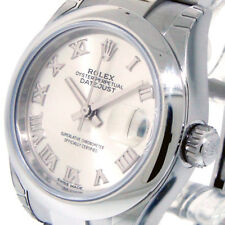 ROLEX 279160 LADY DATEJUST 28 mm STAINLESS STEEL OYSTER SILVER ROMAN DIAL LADIES