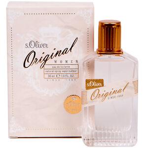 S.Oliver Original Femmes / Femme Eau De Toilette EDT Spray 30 ML
