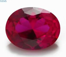 Natural Pigeon Blood Red Ruby 16.78ct 13x18mm Oval Faceted Cut VVS Loose Gems