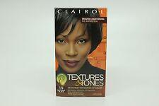 CLAIROL Texture & Tones WOMENS HAIR COLOR # 1N Natural BLACK - NEW
