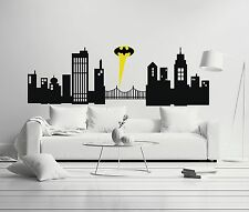 Batman Gthoam City Superheroe Movie Marvel Wall Decal Decor For Car Home X-Large