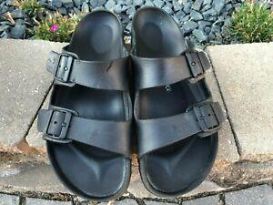 Men's Birkenstock Arizona Plastic Slides Sandals Size 11 Euro Size 44