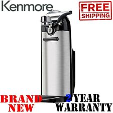 New KENMORE Electric CAN OPENER w KNIFE SHARPENER Automatic Touch Kitchen Cans