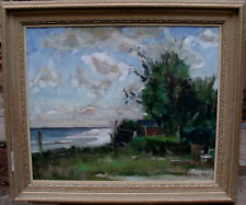 "Anders Olson 1880-1955, ""Sonnenglitzern"", datiert 1946"