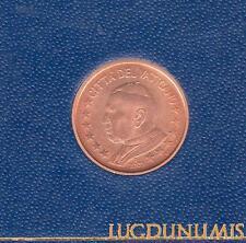 Vatican 2002 – 1 Centime d'Euro – 65 000 exemplaires Provenant du coffret BU RAR
