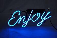 Enjoy Neon Sign Light Pub Beer Bar Restaurant Wall Poster Visual Artwork