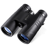 10x42 Compact Waterproof Binoculars with Strap for Hunting Bird Watching HUTACT