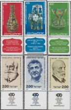 Israel 776-778,779-781 with Tab (complete issue) unmounted mint / never hinged 1