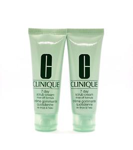 2 x Clinique 7 Day Scrub Cream Rinse-Off Formula  1.7 oz / 50 ml = Total 3.4 oz