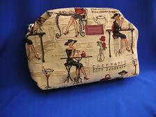 Belgian Tapestry Cosmetic Bag