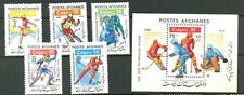 Afghanistan: Winter Olympics,1988,Sc. 1301-2,MNH