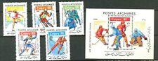 Afghanistan: Winter Olympics,1988,Sc. 1301-2,MNH