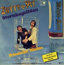 "7"" ZOTTY & PIT ex SITTING BULL Sternhagelblau METRONOME Krautrock 1976 NEUWERTIG"