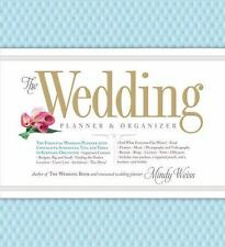 The Wedding Planner and Organizer by Mindy Weiss (2012, Hardcover)