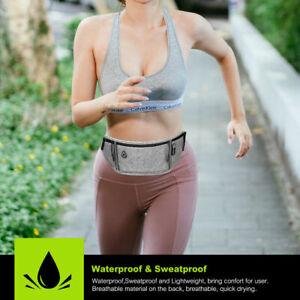Waterproof Running Belt Sport Jogging Travel Reflective Stripe Waist Bum Bag