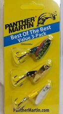 Panther Martin Bob3 Best of The Best 3 PK Bass Fishing Spinner