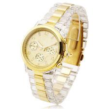 Luxury Quartz Wrist Watch Bracelet Lady Women Dress Fashion Resin Band Reloj Uhr