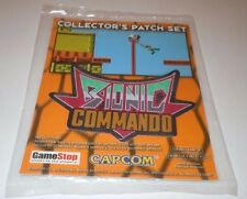 Bionic Commando Collector's Patch Set NEW Sealed Capcom Nintendo NES PROMO Game
