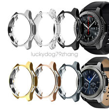 2Pack Case For Samsung Gear S3 Classic Frontier TPU Protector Bumper Cover
