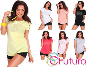 Sequins Casual Top with Cloche Hat Jeans Style Top Crew Neck Sizes 8-14 FB261