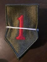 Lot of 2 US Army Vietnam Era Big Red One 1st Infantry Division Color Patches