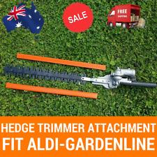 Hedge Trimmer Attachment 9 Splines For ALDI GARDENLINE Brush Cutter, Multi Tool
