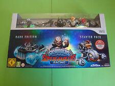 WII Spiel Skylanders Superchargers Starter Box (Dark Edition)