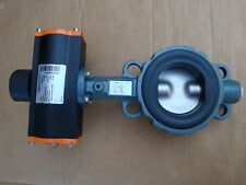Ebro Armaturen DN80 butterfly valve + pneumatic actuator