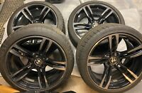 """19"""" OEM WHEELS BMW M3 M4 With Michelin Pilot Super Sport TIRES and TPMS Sensors"""