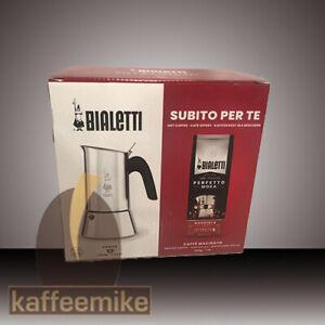 Bialetti Venus Herdkanne 6 Tassen + 200 g Nocciola Kaffee gemahlen