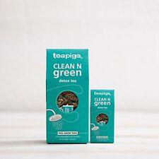 Clean n Green Tea Bags - Tea Pigs - 15 Biodegradable Tea Temples Feel Good Teas