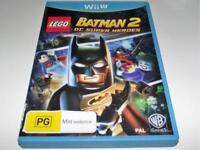 Lego Batman 2 DC Super Heroes Nintendo Wii U PAL *Complete*