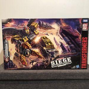Transformers Siege Titan WFC-S29 Omega Supreme NIB