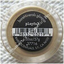 bareMinerals Bare Escentuals Playful Eye Shadow .57g Very Pale Yellow Full Size