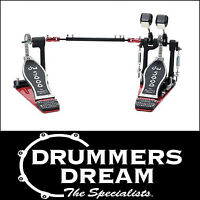 DW 5000 Series Double Bass Drum Kick Pedal - DWCP5002AD4 Brand New RRP $929