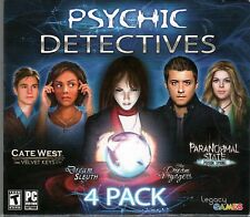 PARANORMAL STATE POISON SPRING Hidden Object PSYCHIC DETECTIVES 4 PACK PC NEW
