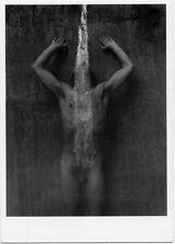 Wimereux 1986 Young Man in Shower Nudity photo Jo Brunenberg POSTCARD Europe
