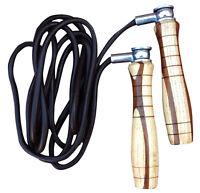 ARD Pro Leather Skipping Rope Adjustable Weighted Exercise Fitness Speed Jumping