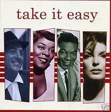 TAKE IT EASY - FRANK SINATRA JULIE LONDON DEAN MARTIN KAY STARR - 3 CDS - NEW!!