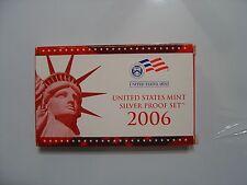2006-S SILVER PROOF SET in unopened box w/COA