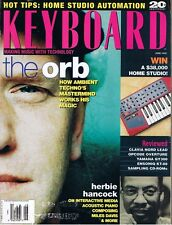 1995 Keyboard Magazine: The Orb, CLAVIA NORD Lead, ENSONIQ KT-88, YAMAHA QY300