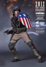 Hot Toys hottoys Captain America (Rescue Uniform Version) 1/6 Scale MMS180