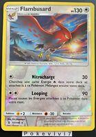 Carte Pokemon FLAMBUSARD 111/145 Rare REVERSE Soleil et Lune 2 SL2 FR NEUF
