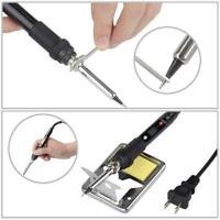 Digital Iron Welding Tool LCD Electric Soldering Solder Hand Tweezers 0W Wi C9R2
