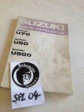 Suzuki parts list catalogue pièces détachées U50 U50D U70 U 50 70 éd. 69