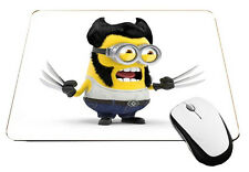 Minions Wolverine Mouse Pad X-Minions Mousepad Yes They Do Exist, MP409