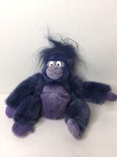 Applause Disney Tarzan Terk Going Gorilla Purple Blue 9in Small Plush Stuffed